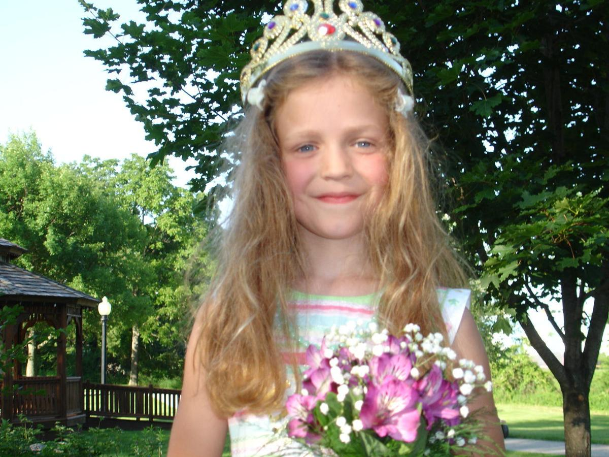 2021 Island Queen Mary Bodensteiner pictured as Li'l Island Princess in 2010