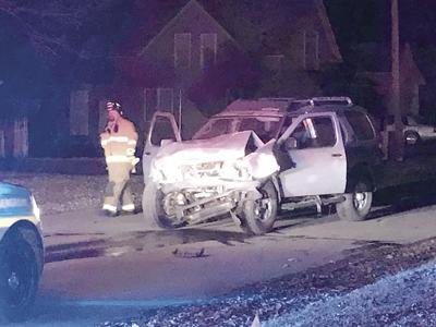 Pursuit leads to crash with patrol car in Oelwein