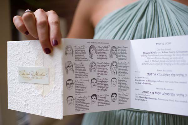 Real Wedding of the Week: Sarah and Michael Brasky