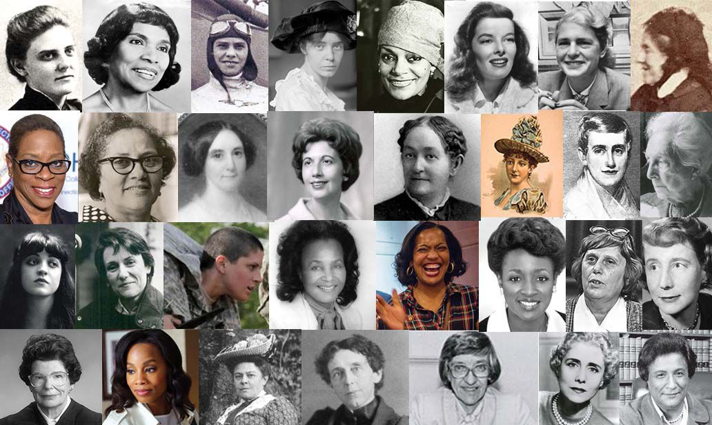 Women's History Collage