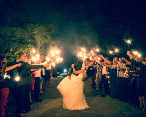 Real Wedding of the Week: Jordan and Justine Timbro