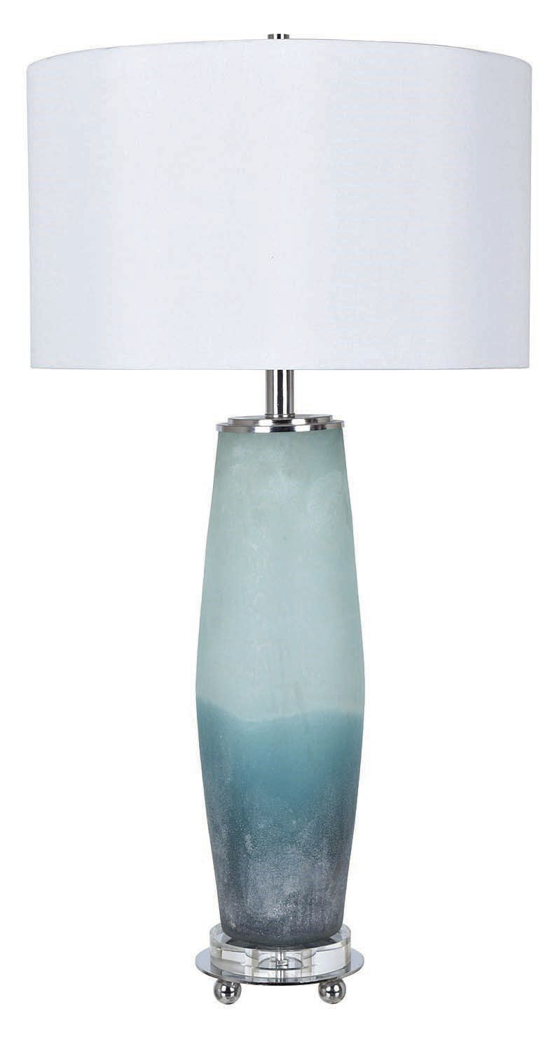 Seaside Table Lamp with Frosted Sea Glass.jpg