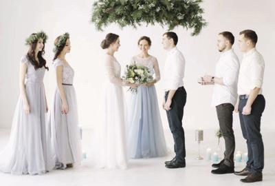 Having a friend or family member preside over your wedding has benefits