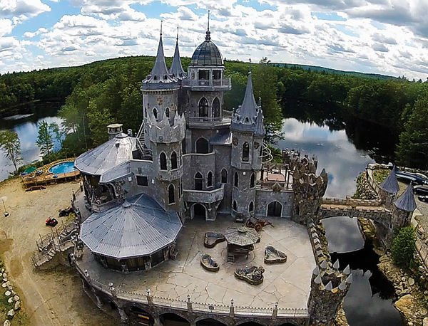 Magical Woodstock Castle in Connecticut On the Market for $45 Million