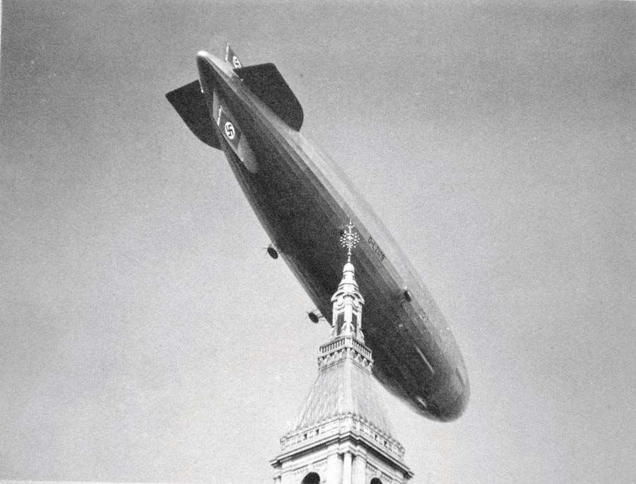 Hindenburg over the Travelers.jpg