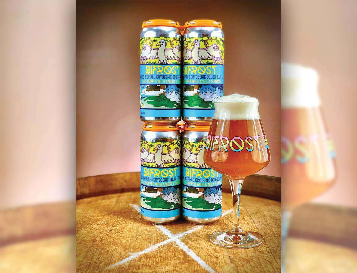"""One of OEC's new """"clean"""" beers."""