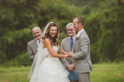 Real Wedding: Erin Haggerty and Daniel Rich