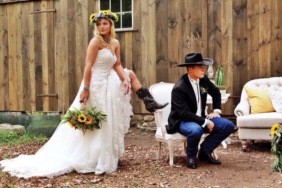 A Wild West Wedding A Wild West