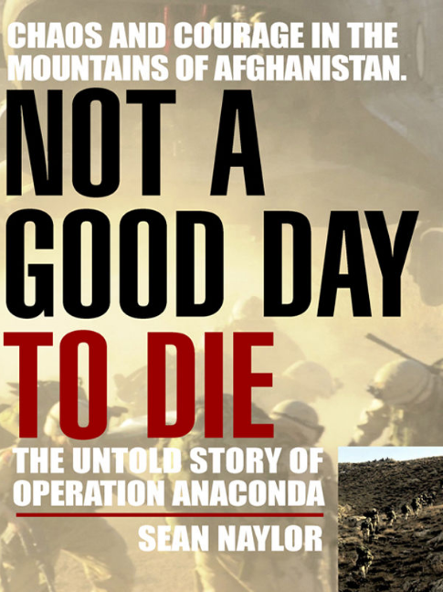 Not A Good Day to Die cover