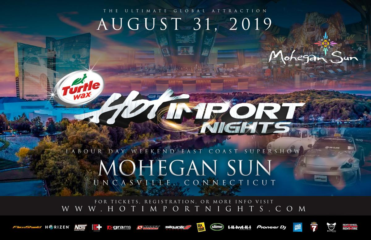 Official Hot Import Nights Connecticut Flyer