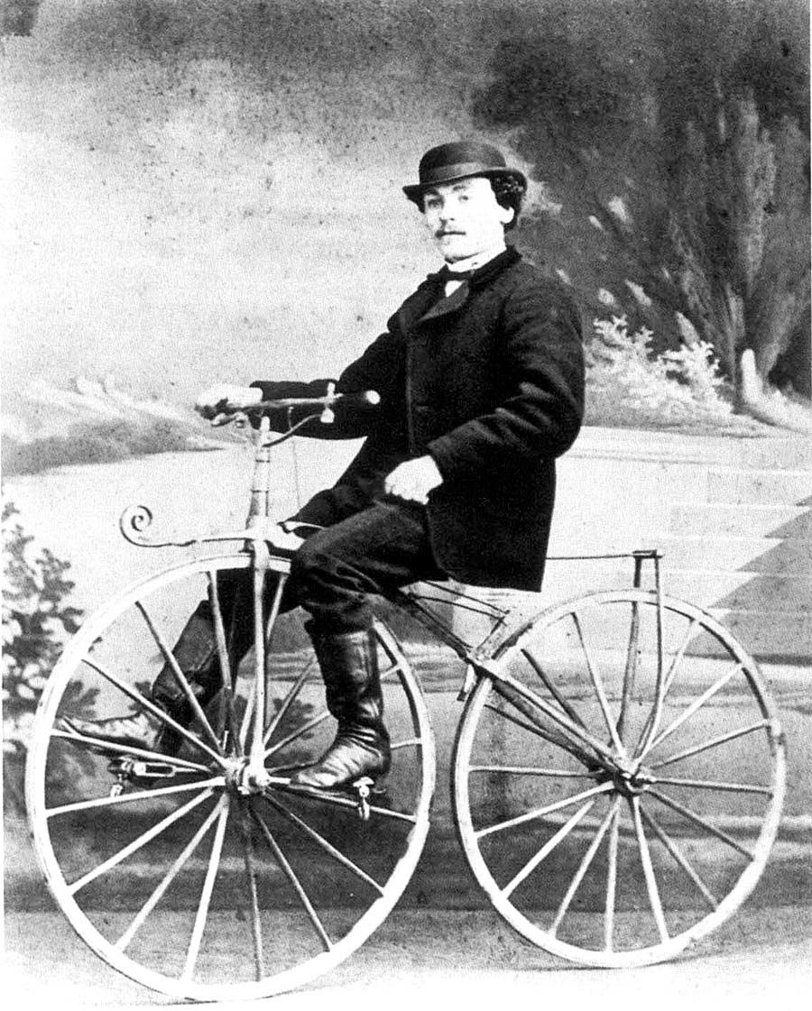 Unsung Connecticut Inventor Received First Patent for a Bicycle ...