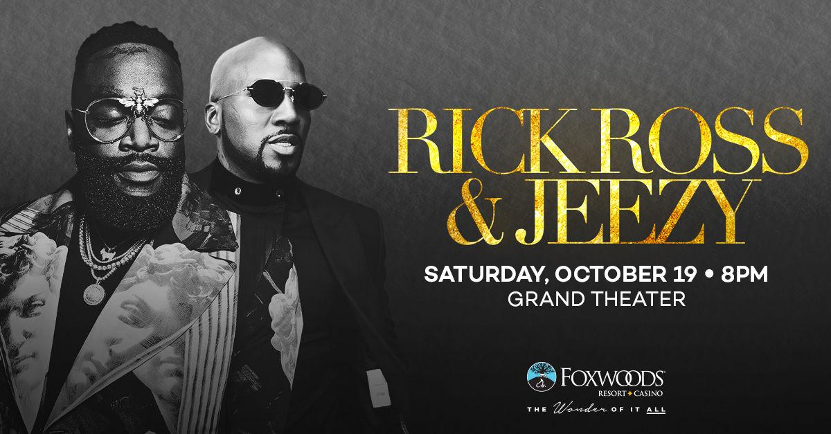 Rick Ross & Jeezy at Foxwoods Resort Casino