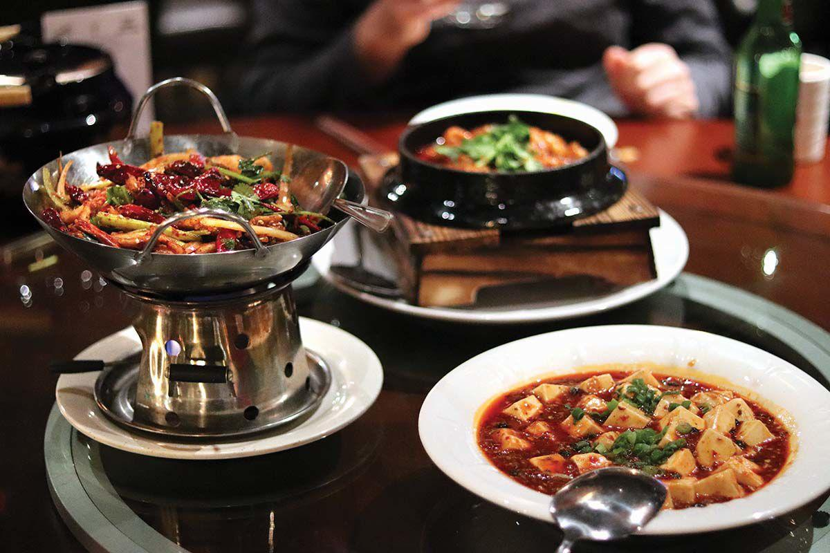 Peter Chang Restaurant in Stamford offers a variety of high-quality Chinese cuisine.