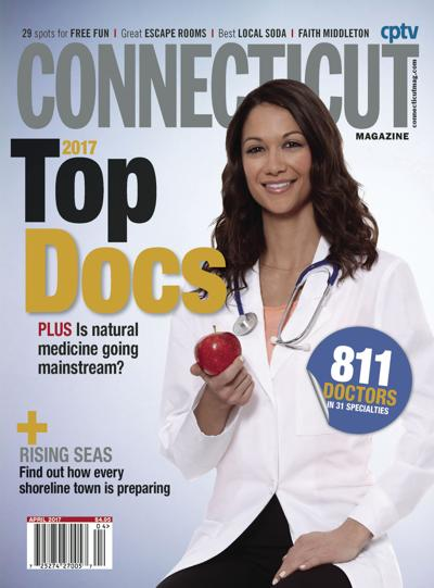 Connecticut Magazine's Top Docs April 2017 cover