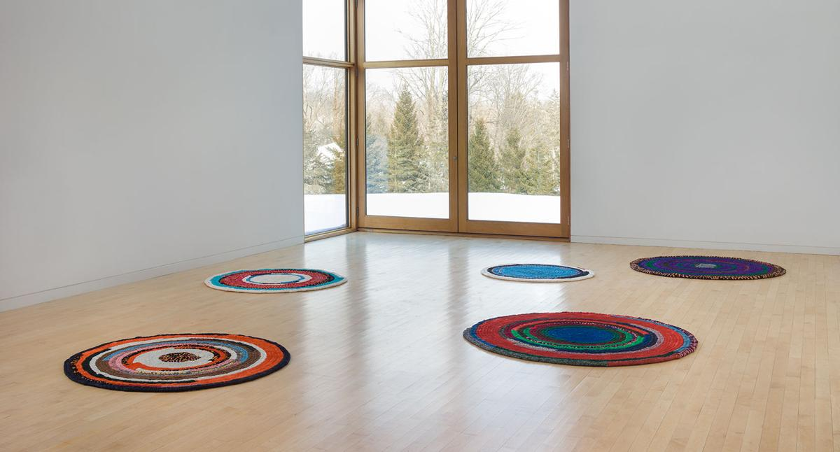 Image: Harmony Hammond, Material Witness: Five Decades of Art, The Aldrich Contemporary Art Museum