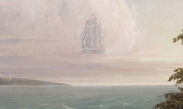 The legend of the Ghost Ship of New Haven