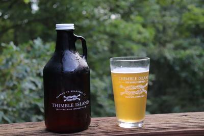 Thimble Island Brewing Co. in Branford's Brut Super Dry IPA. Sept. 13, 2018.
