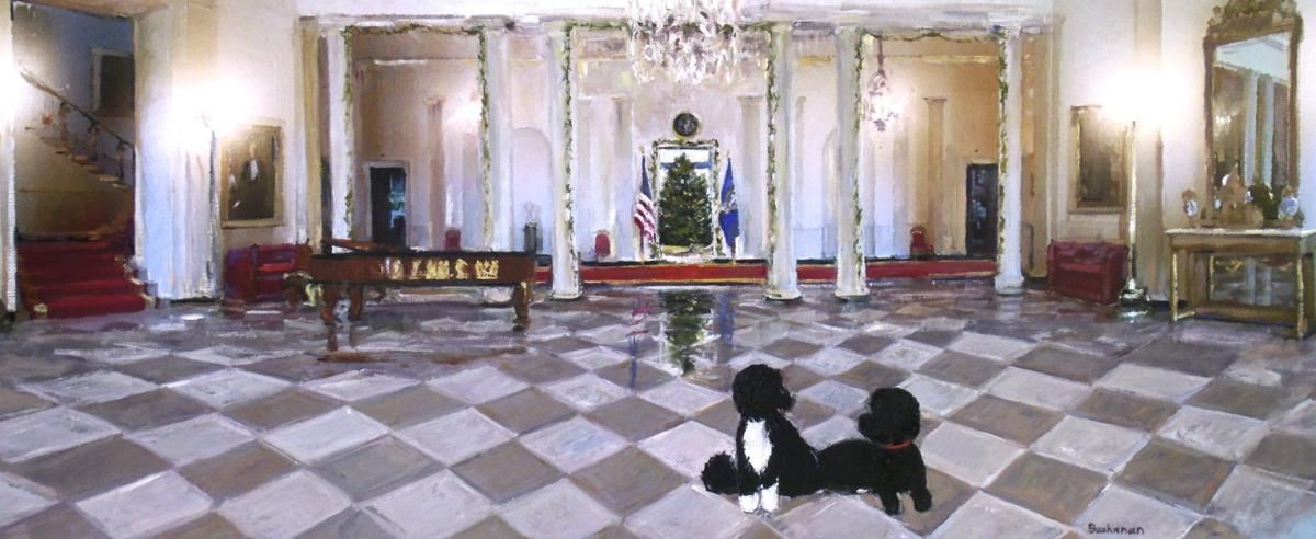 Iconic White House Christmas Card Created by Litchfield Hills Artist ...