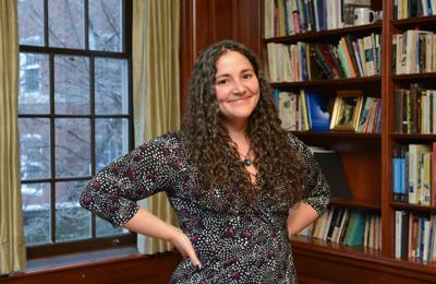 Laurie Santos a pyschology professor at Yale who teaches about the science of happiness.