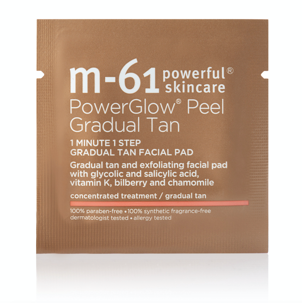 M-61 PowerGlow® Peel Gradual Tan Pad