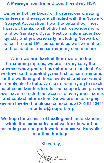 After Norwalk Oyster Fest Ride Incident, a Focus on Safety