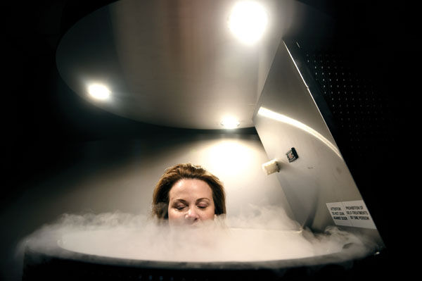 The Ice Treatment Cometh: Super-Cold Cryotherapy Arrives in CT