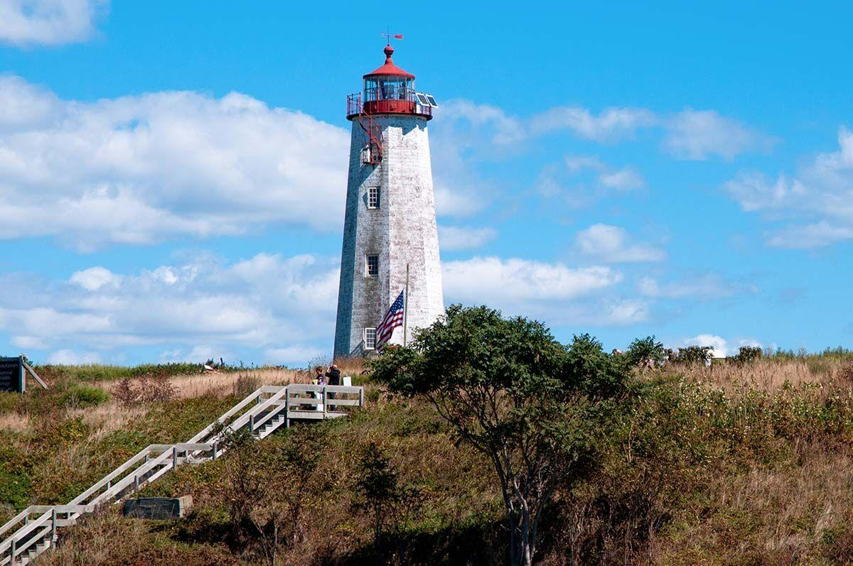 Once,A,Year,Faulkner's,Island,Lighthouse,Tower,Is,Open,To