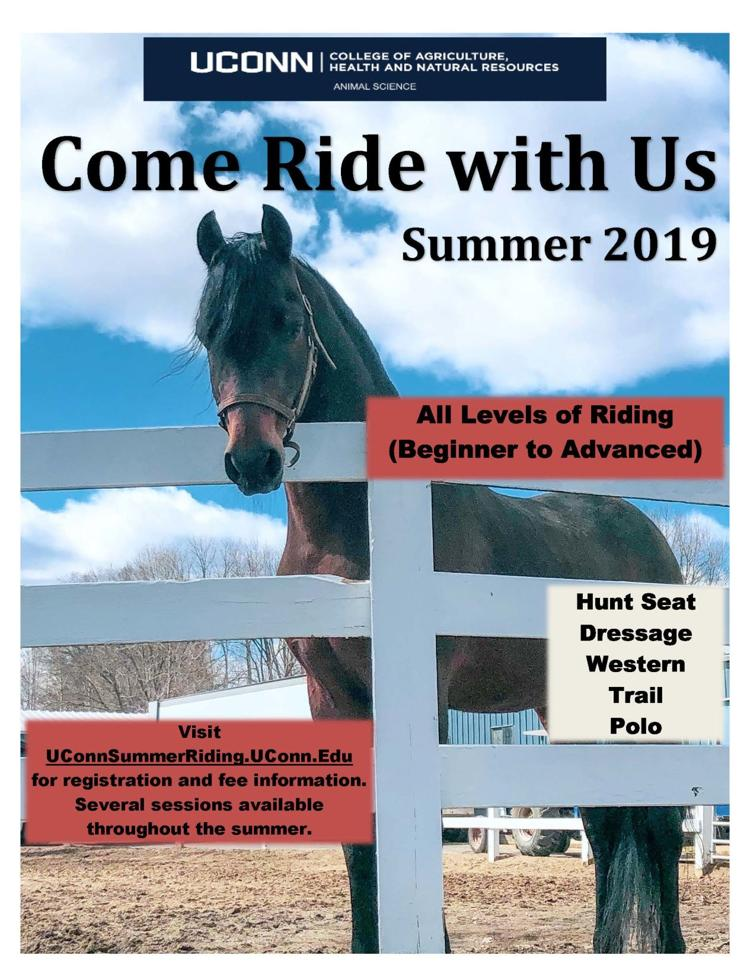 UConn Summer Riding 2019