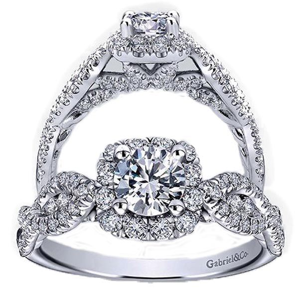Stunning diamonds in elegant settings from designers such as Gabriel & Co. make the perfect gift for a truly memorable holiday. Price varies by piece, from Becker's Diamonds and Fine Jewelry, West Hartford, beckers.com.