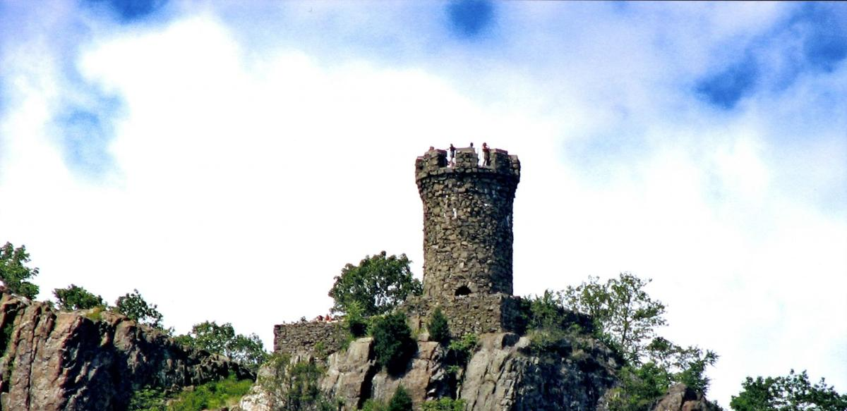 Castle Craig Offers Towering Views of Fall Foliage