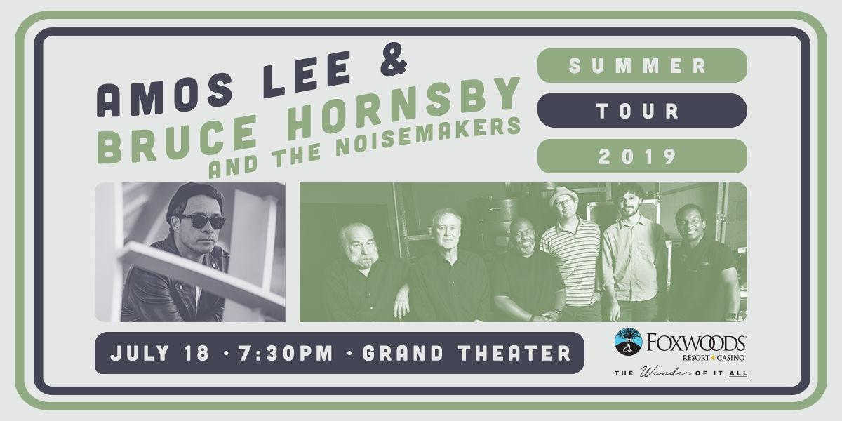 Amos Lee and Bruce Hornsby at Foxwoods Resort Casino