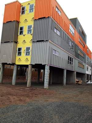 Shipping container housing as latest connecticut for Current architectural styles