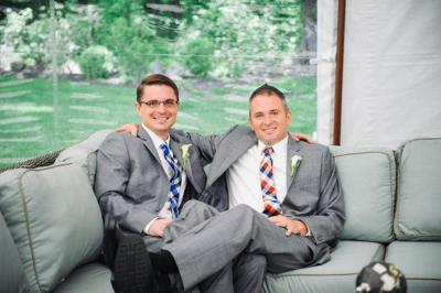 Real Wedding: Sean Crawford and Robb Quirk