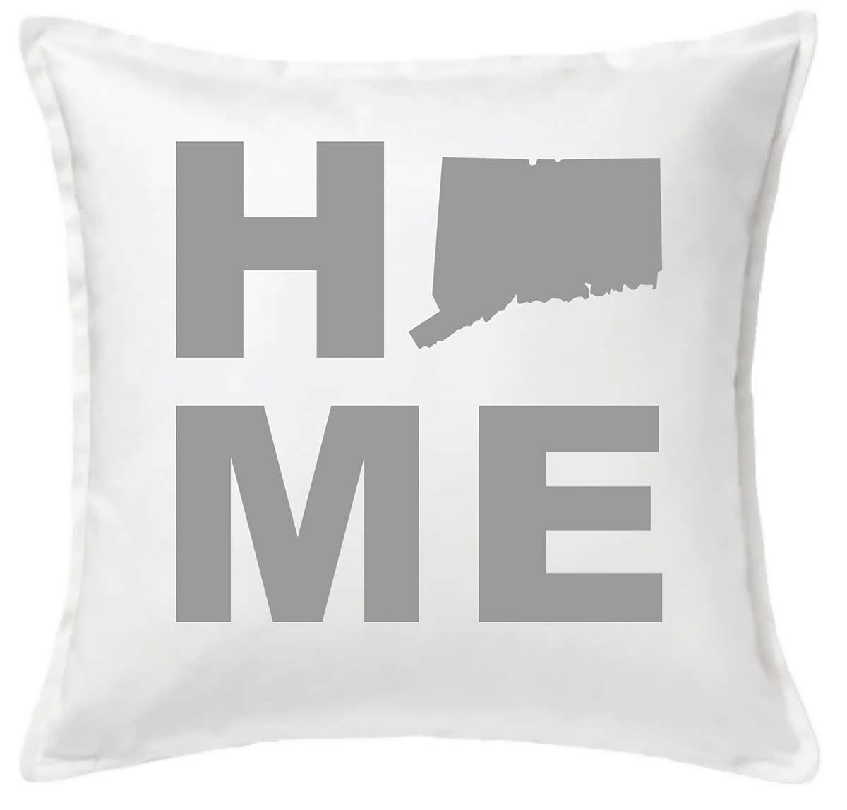 Connecticut HOME Throw Pillow.jpg