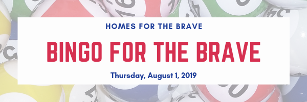 Homes for the Brave's Bingo for the Brave