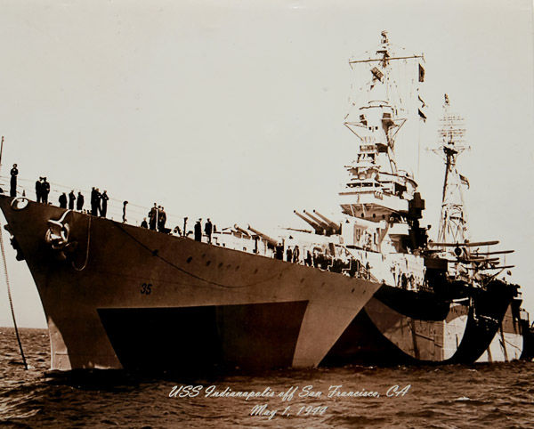 Connecticut's Heroes Aboard the Doomed USS Indianapolis