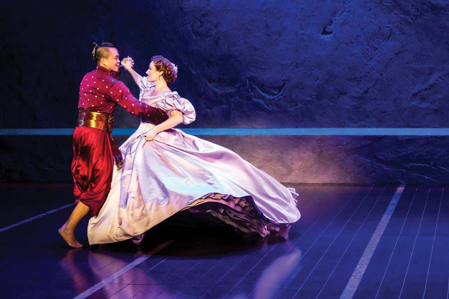 Jose Llana and Laura Michelle Kelly in Rodgers _ Hammerstein's The King and I.  Photo by Matthew Murphy.jpg