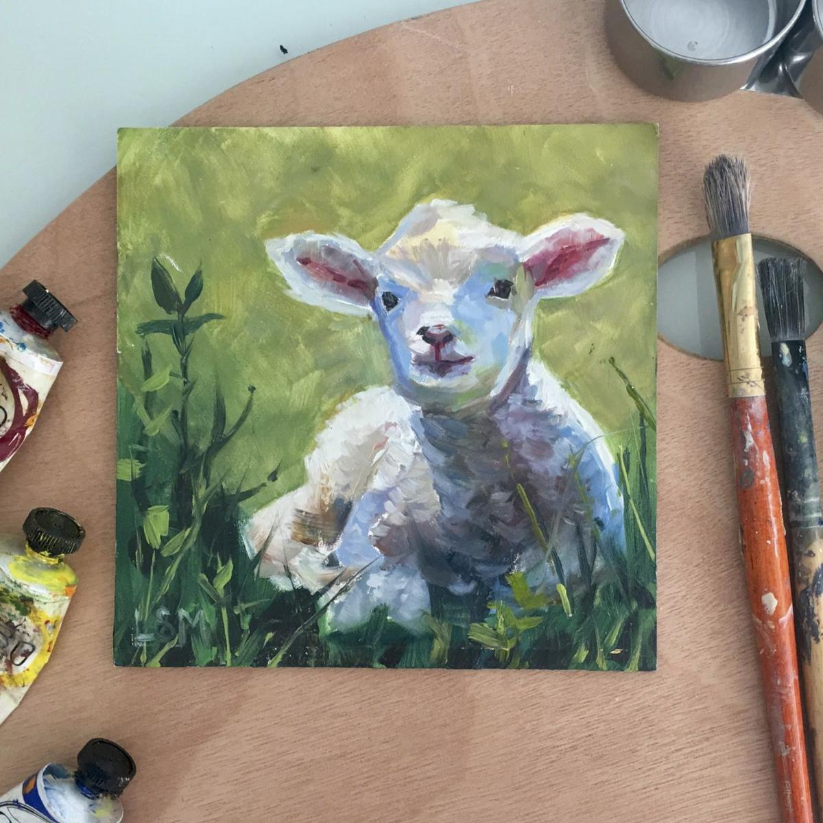 Daily Painting or (almost) 2 Day workshop with Linda S. Marino