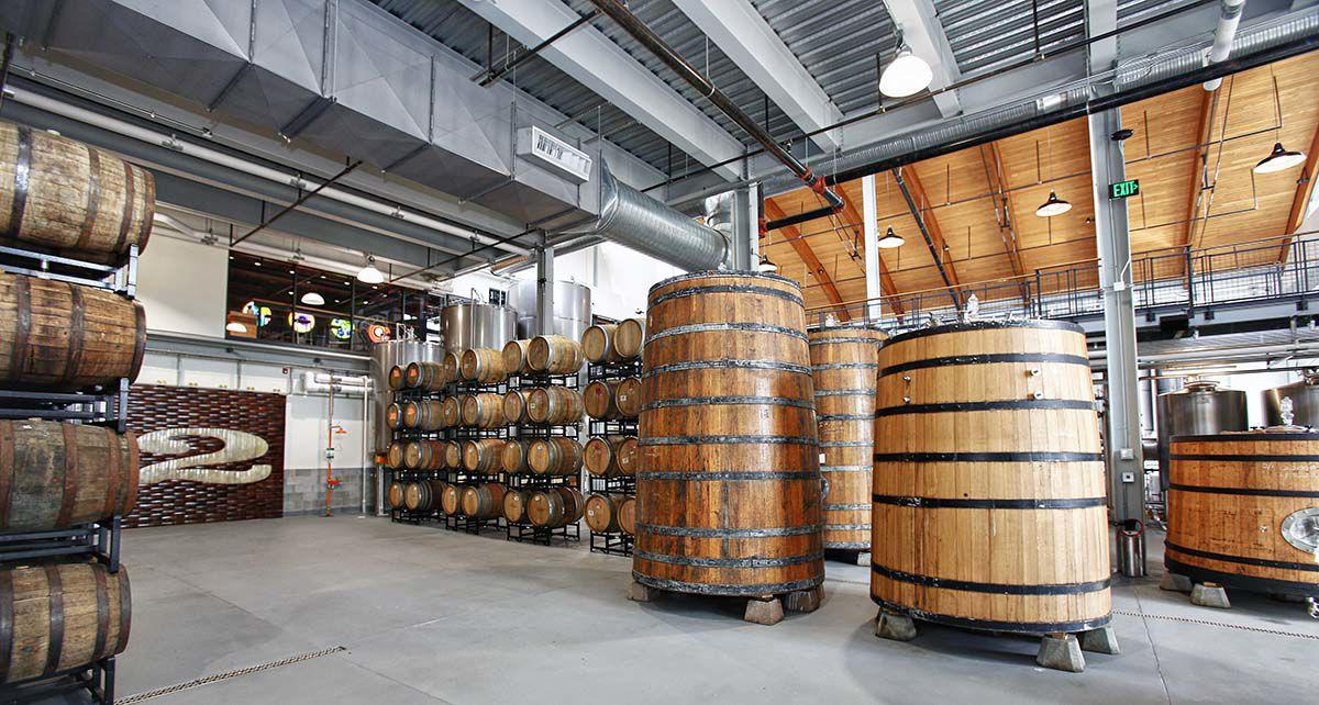Area Two in Stratford. Two Roads' new $15 million experimental brewing facility.