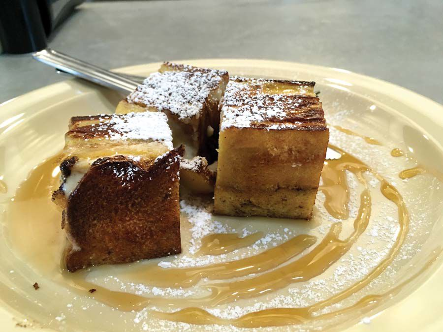 Bricks French Toast Layers Of French Toast And Sweetened Cream Cheese Is A Standout Favorite At The New 5 And Dime Canin Newington