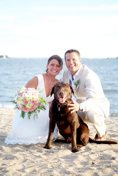 Real Wedding of the Week: Kyle and George DiScala