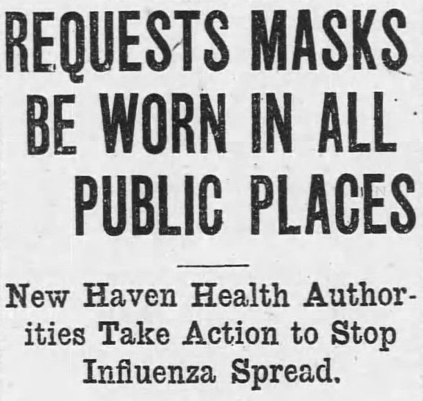 Like Today, The Spanish Flu Of 1918 Brought Life In