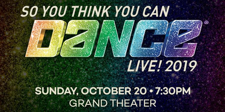 So You Think You Can Dance Live at Foxwoods Resort Casino