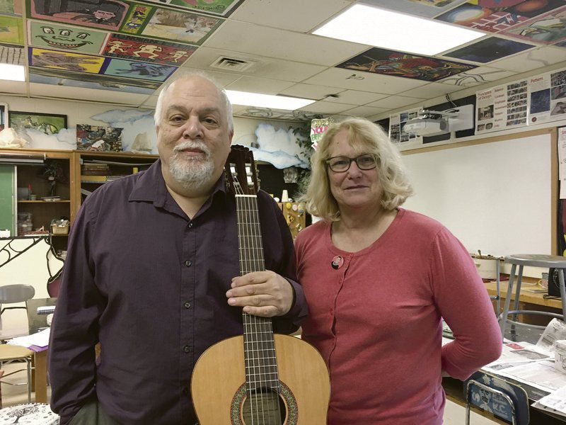 Retiring duo brought art, passion to CCS