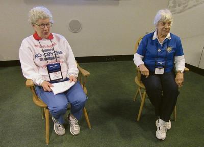 Women behind 'A League of Their Own' speak at HOF