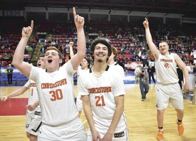 Coop boys win first state basketball title