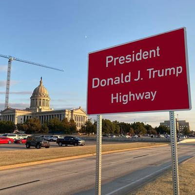 Renaming Route 66 Trump Highway