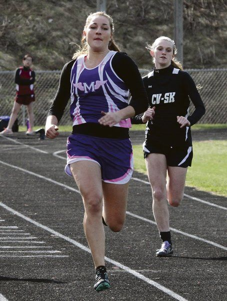 Milford girls on track for top finish