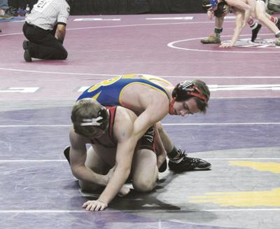 Leonard places third at state wrestling tournament