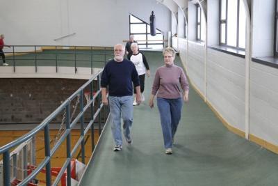 Clark Sports Center takes seniors walking to a new level